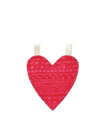 Símbolo Corazón de tela