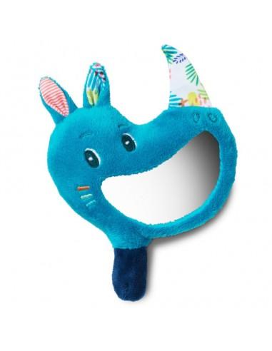Sonajero con espejo del rinoceronte...