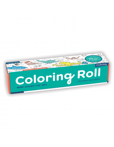 Rollo para colorear Bajo el mar