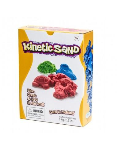 Arena cinética Kinetic Sand 3 Kg y 3...