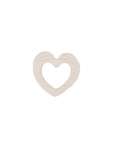 Mordedor de madera corazón