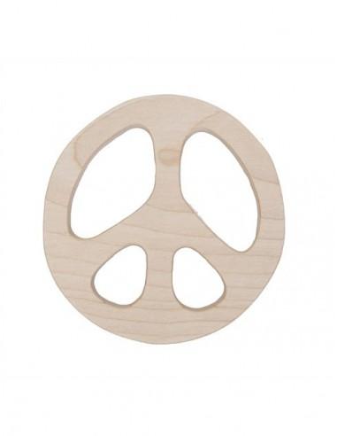 Mordedor de madera paz