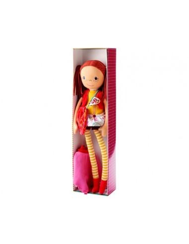 Muñeca de tela del circo Olga