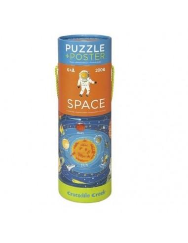 Puzle del Espacio, de 200 piezas