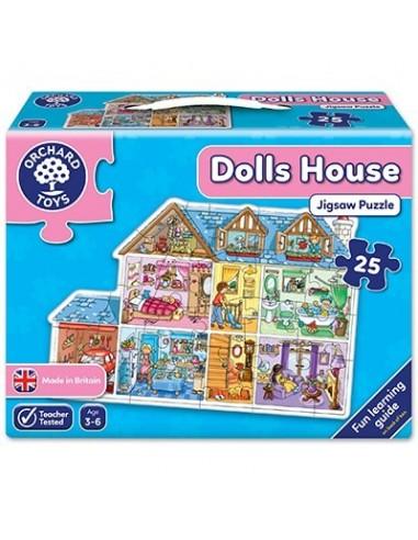 Puzle Casa de muñecas, de 25 piezas