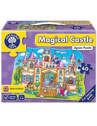 Puzle Castillo mágico, de 40 piezas
