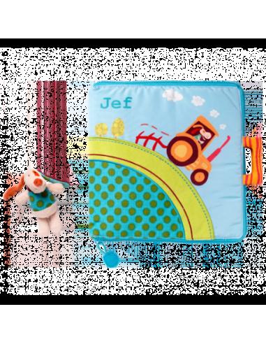 Libro de tela Jef en la granja