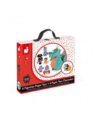 Kit para figuras de papel muñecos de...