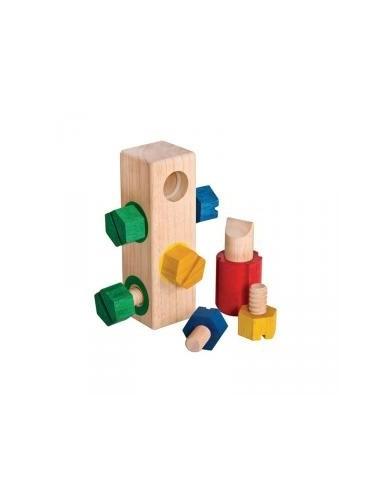 Tornillos de madera para enroscar