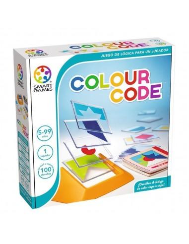Juego de lógica Colour code
