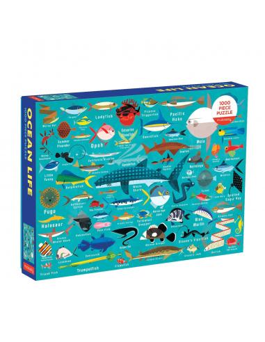 Puzle Vida del océano, de 1000 piezas