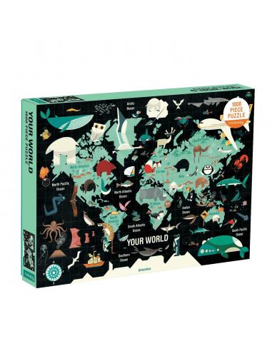 Puzle El mundo, de 1000 piezas
