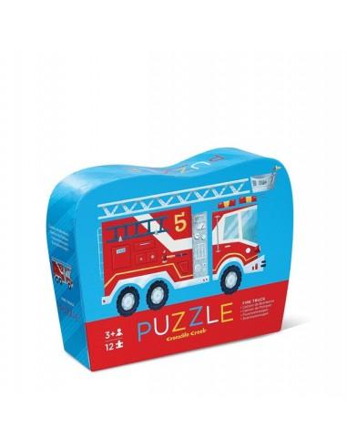 Puzle mini Camión de bomberos, de 12...