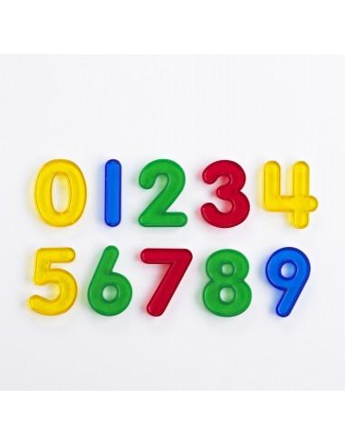 Set de 10 números huecos translúcidos...