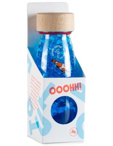Botella sensorial sonora Peces y agua