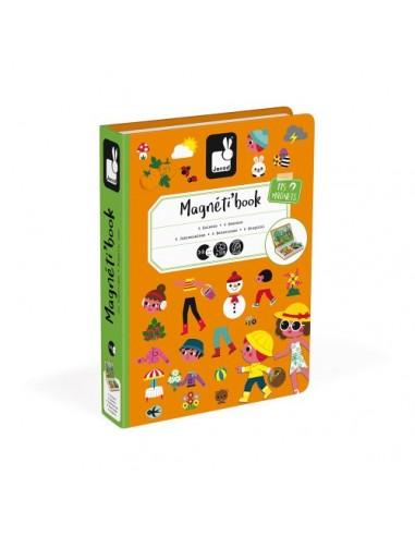 Juego magnético Magneti'book Las 4...