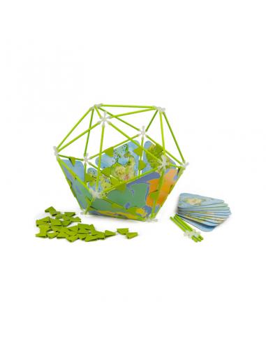 Juego de construcción del globo...