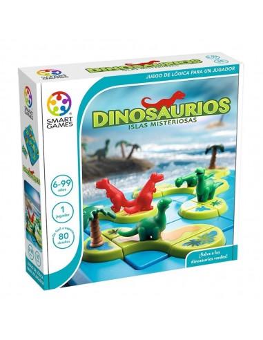 Juego de lógica Dinosaurios, islas...