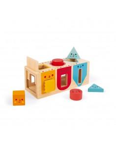 Caja con formas geométricas...