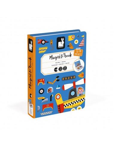 Juego magnético Magneti'book Bólidos
