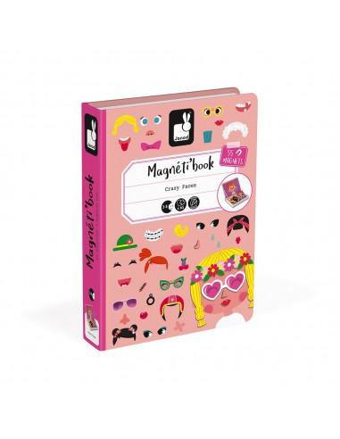 Juego magnético Magneti'book Caras...