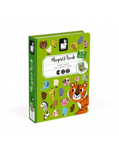 Juego magnético Magneti'book Animales