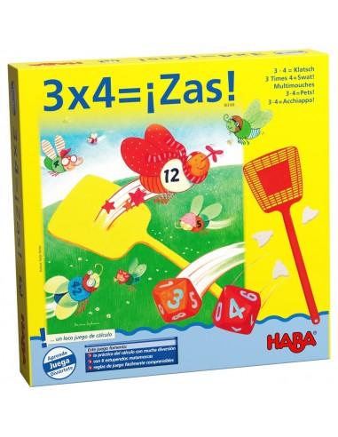 3x4: ¡Zas!