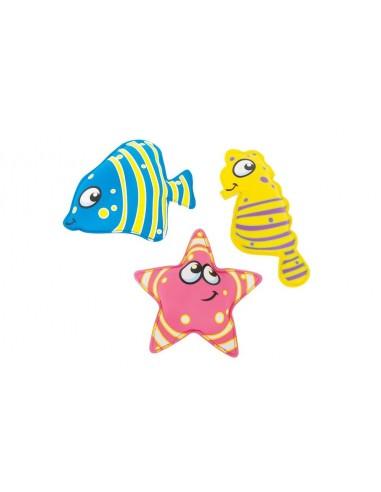Animales buceadores: estrella de mar,...