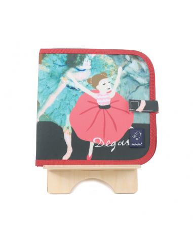 Libro-pizarra para colorear Degas