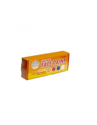 Pinturas para la cara, 4 colores