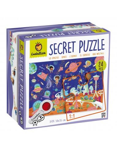 Puzle secreto del espacio, de 24 piezas
