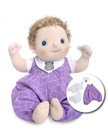 Muñeca bebé de tela Emma