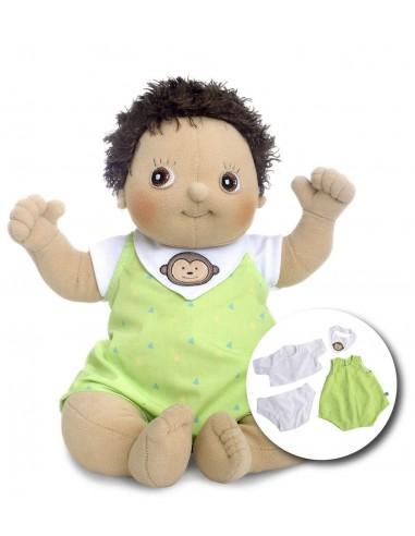 Muñeco bebé de tela Max