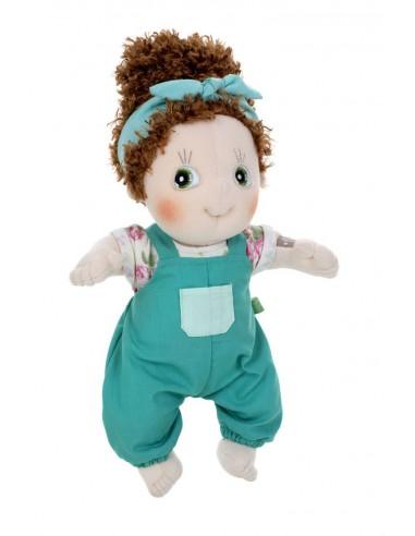 Muñeca de tela Karin, la constructora