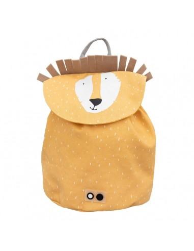 Mini mochila de algodón Mr. Lion