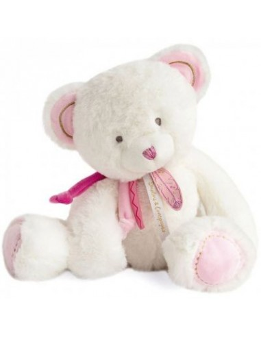 Oso atrapasueños rosa de 30 cm