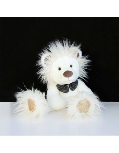 León con brillantina de 30 cm