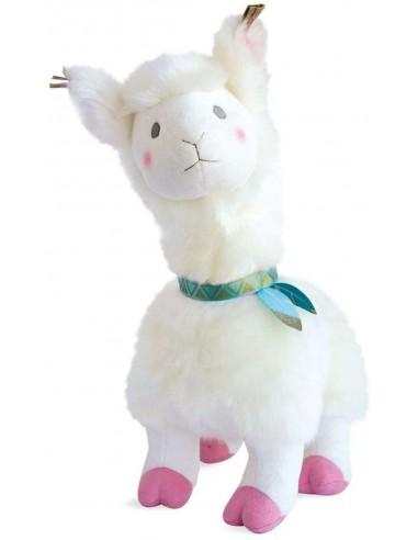Llama blanca de 50 cm