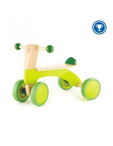 Bicicleta de madera sin pedales pequeña