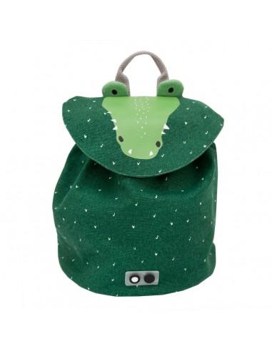 Mini mochila de algodón Mr. Crocodile