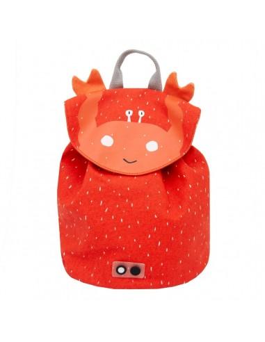 Mini mochila de algodón Mrs. Crab