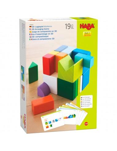 Juego de composición en 3D Mix de cubos
