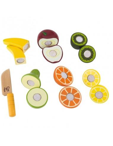 Frutitas de madera para cortar
