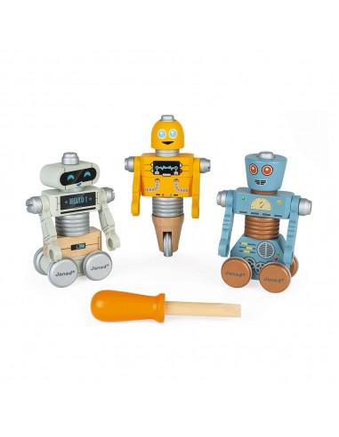 Set de construcción de Robots DIY