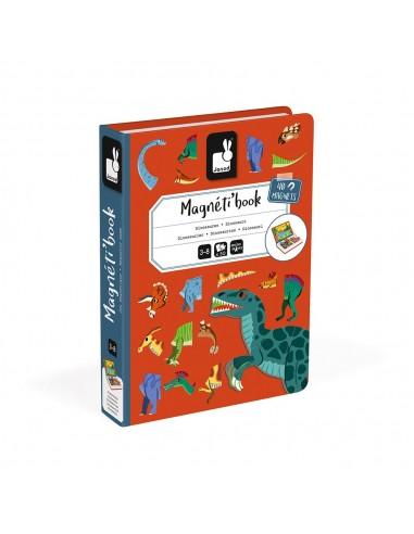 Juego magnético Magneti'book Dinosaurios