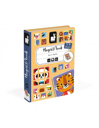 Juego magnético Magneti'book Mix & match