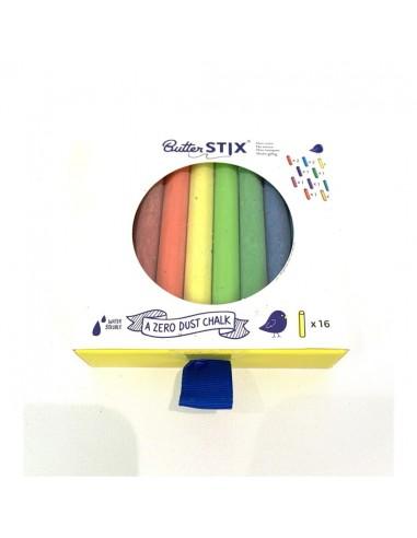 Tizas de colores sin polvo