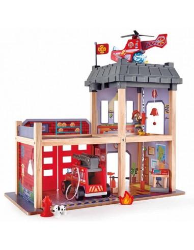Parque de bomberos de madera Gran ciudad