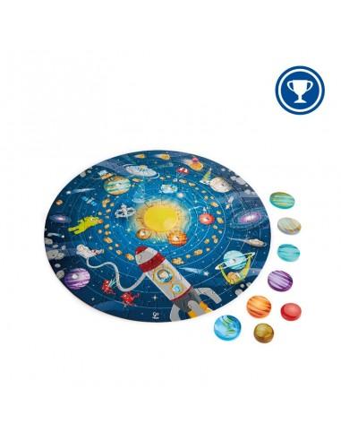 Puzle del sistema solar, de 100 piezas