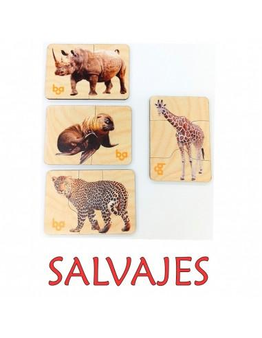 Mi primer puzle Animales salvajes